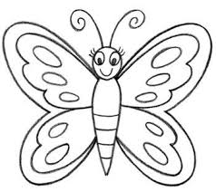 how to draw a butterfly in easy way designs grandchildren