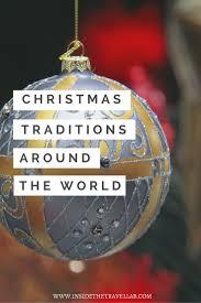 christmas traditions around the world