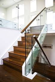 glass railing with glass standoffs from mogg design ideas