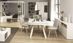 table de cuisine en bois avec rallonge table carree salle a manger design table ronde avec rallonge