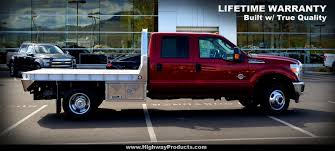 semi truck manufacturers pickup truck aluminum flatbeds highway products inc