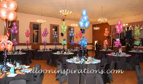 themed decorations themed bat mitzvah decorations ballooninspirations