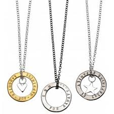 necklace with charms images Personalised hug charms necklace jpg