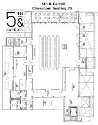 venue floor plans 5th u0026 carroll