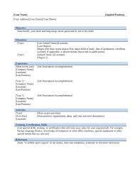 resume format download ms word