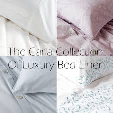 the carla collection of luxury bed linen bela casa home