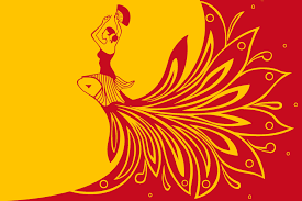flag of spain in the style of palekh vexillology