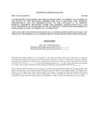 Promissory Note Real Estate Template by Alberta Offering Memorandum For Unsecured Promissory Notes And