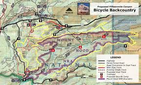 Portland Bike Map by Mountain Bike Wyeast Blog