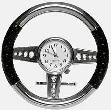 themed clock steering wheel themed clock