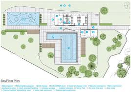 House Plans With Swimming Pools Gallery Of Queen Elizabeth Outdoor Pool Group2 Architecture