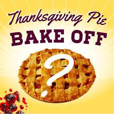 thanksgiving pie bake family calgary