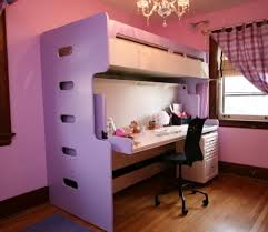 bunk bed office desk home design ideas