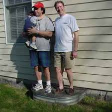 window well covers are strong it can hold the weight of two