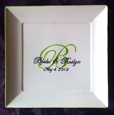 guest book platters wedding guest book alternative guest book plate personalized