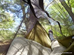 thermarest slacker hammock bug net review section hikers
