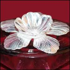 silver gift items india kubera deepam on glass stand send silver pooja items to india