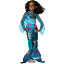 mermaid tails for halloween kids u0027 halloween costumes walmart com