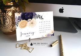 Floral Desk Accessories 2018 Floral Calendar Desk Accessories 2018 Organizer 2018