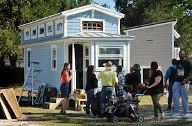tiny house festival goes big in st johns county st augustine