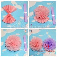 shop 2014 10cs lot 8 inches 20cm tissue paper pom poms