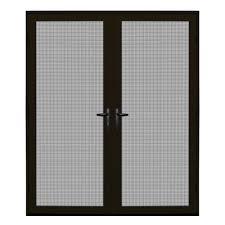 vinyl screen doors exterior doors the home depot