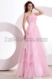 romance one shoulder pink cheap quinceanera gown dress 1st dress com