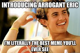 Eric Meme - i m sorry is the sun in your eyes because it s reflecting off my