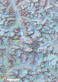 Map Of Everest Bad Heilbrunner Mount Everest Jubiläumsexpedition 2003 English