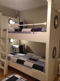 Bunk Bed Lights Nautical Bunks With Portholes Reading Lights And Oars Bunk
