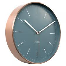 Minimalist Clock by Karlsson Clocks Wall U0026 Alarm Clocks Red Candy