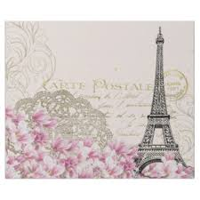 eiffel tower wrapping paper vintage wrapping paper zazzle