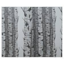 birch wrapping paper zazzle