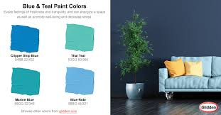 blue u0026 teal paint colors