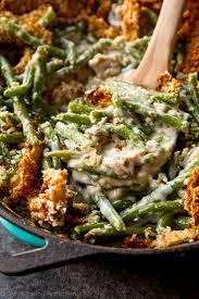 green beans recipe thanksgiving creamy green bean casserole from scratch sallys baking addiction