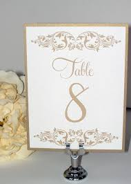 table numbers wedding wedding table numbers wedding table cards gold leaf