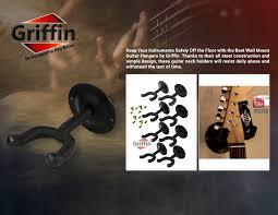 Tv Wall Mount Lowering Guitar Wall Mount Hanger 8 Pack Neck Mount Holder Music