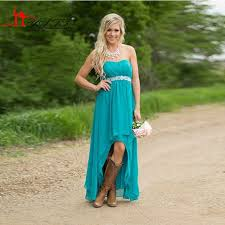 country high low dresses