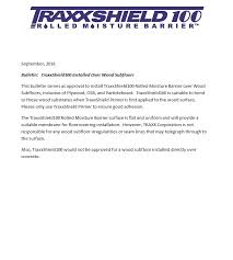 traxxshield100 engineered flooring installation products