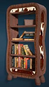 Bookshelf Online Leather Bookshelf Black Desert Online Furniture