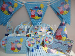 peppa pig party supplies buy baby kids peppa pig birthday party decoration free ems shipping