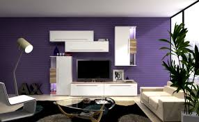 living room decorating ideas living room futuristic purple color design inspiration enthralling