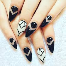 clear acrylic nails with designs gallery nail art designs