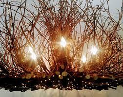 Twig Light Fixtures Allegheny 5 Light Rustic Twig Chandelier Grapevine