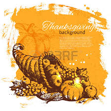 vintage thanksgiving day background royalty free