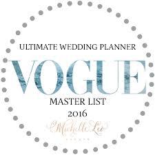 Ultimate Wedding Planner Vogue U0027s Ultimate Wedding Planner Master List Mle Is On It