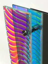 Architectural Glass Panels Architectural Glass Design Changing Color Glass Dichroic Glass