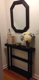Black Entryway Table Narrow Entryway Tables Narrow Black Entryway Console Table And