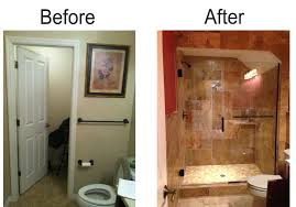 Small Bathroom Renovation Before And After Interesting Bathroom Remodel Before And After Single Sink To