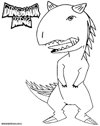 dinosaur king coloring pages print coloring